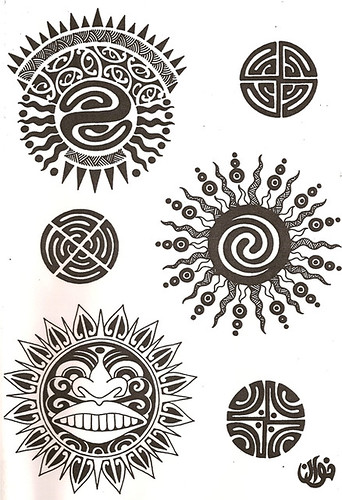 Considered sacred with the New Zealand tribes, the Polynesian Maori tattoos