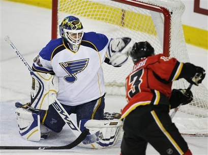 Blues Flames Hockey
