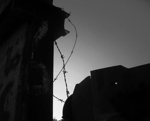 Muro de Berlim - silhueta