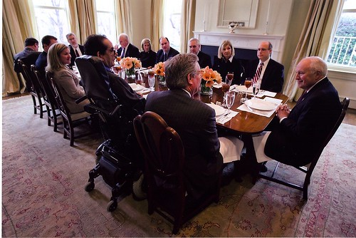 Lunch at the Vice President's House