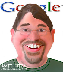 Matt Cutts caricature