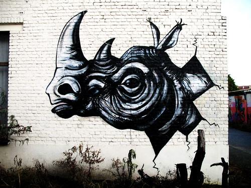 Ghent graffiti - Roa