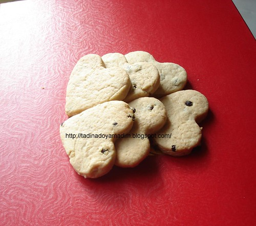 Kuşüzümlü kurabiye