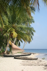 San Blás beach scene