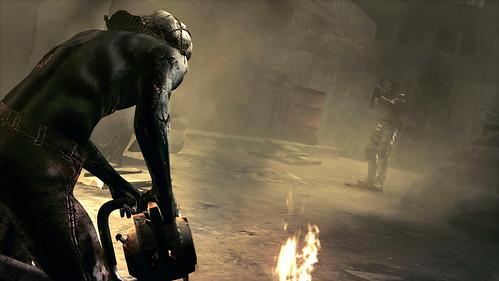 Resident Evil 5 motosierra