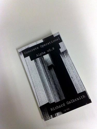 Concrete Operational Blurb Book