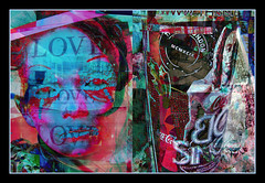 Love Poster (Tim Noonan) Tags: art love face digital photoshop effects diptych manipulation pole posters soe treatment supershot platinumphoto theunforgettablepictures goldstaraward sharingart maxfudge awardtree maxfudgeexcellence graphicmaster maxfudgeawardandexcellencegroup daarklands