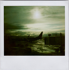 95//365 : rainy day (Leah Reich) Tags: california southwest rain polaroid oakland airport minolta rainy bayarea february spectra 2009 ahh oaklandairport morerain eachother weneedmore project365 instantpro weseealotof southestairlines weknoweachother sowellnow youdontalways lookthisserenethough