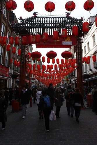China town in Soho