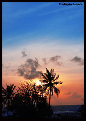 Sunset (juzz_arisuta) Tags: sunset bali nature kuta alam otw badung petitenget