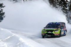 Jari-Matti Latvala on SS23 - Rally Norway 2009 (olemartin) Tags: winter snow ford norway focus rally wrc 2009 rallye motorsport fordfocus rallynorway fordfocuswrc ef70200mmf4lusm challengeyouwinner latvala rallynorway2009 rallygutta fullfartfoto fullfartfotono