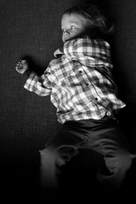 boy on floor