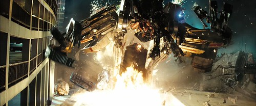 Transformers 2  Optmus y Scavenger