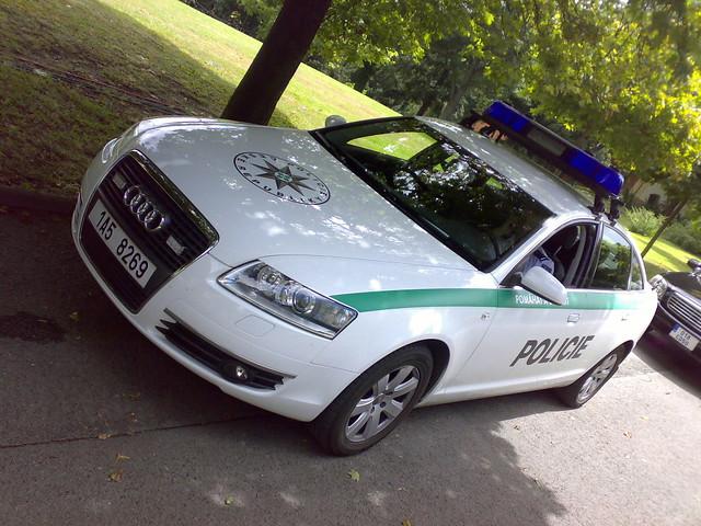 traffic czech state police audi a6