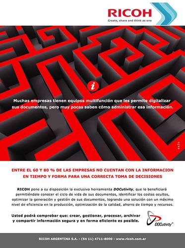 Ricoh Argentina - aviso gráfica