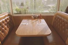 twains (Sarah Elizabeth Moore) Tags: california america la losangeles chairs diner hollywood tables