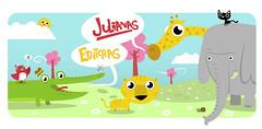 Julianas editoras (emi quiere ser ilustrador infantil y no le sale parte 2) (medialunadegrasa) Tags: animals illustration juan carlos childrens vector julianas editoras