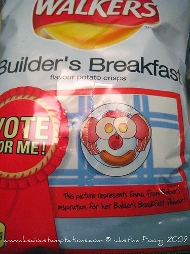 Builder's Breakfast Walkers Crisps