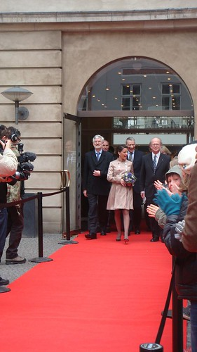 Princess Marie's visit to the national museum