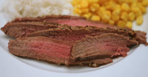 Honey Garlic Chipotle Flank Steak