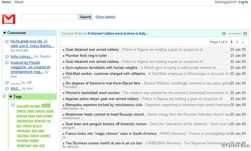 google gmail theme pour wordpress