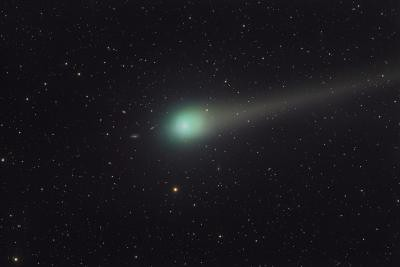 Comet Lulin - still visible in April 2009