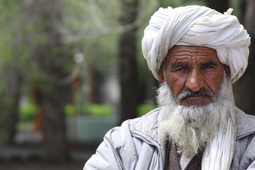 Afghan father