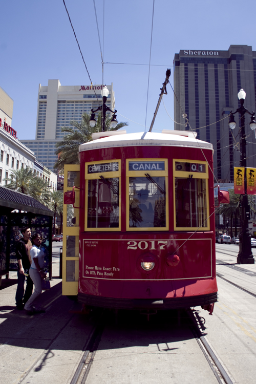 Streetcar.