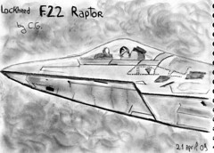 F22 Raptor sketch (Gislaadt Art - new stocks on DA) Tags: art pencil plane sketch aircraft aviation dessin raptor f draw