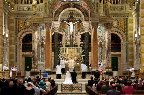 wedding mass