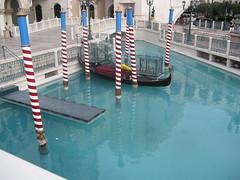 Gondolas at the Venetian (deplaqer) Tags: hotel casino venetian gondolas