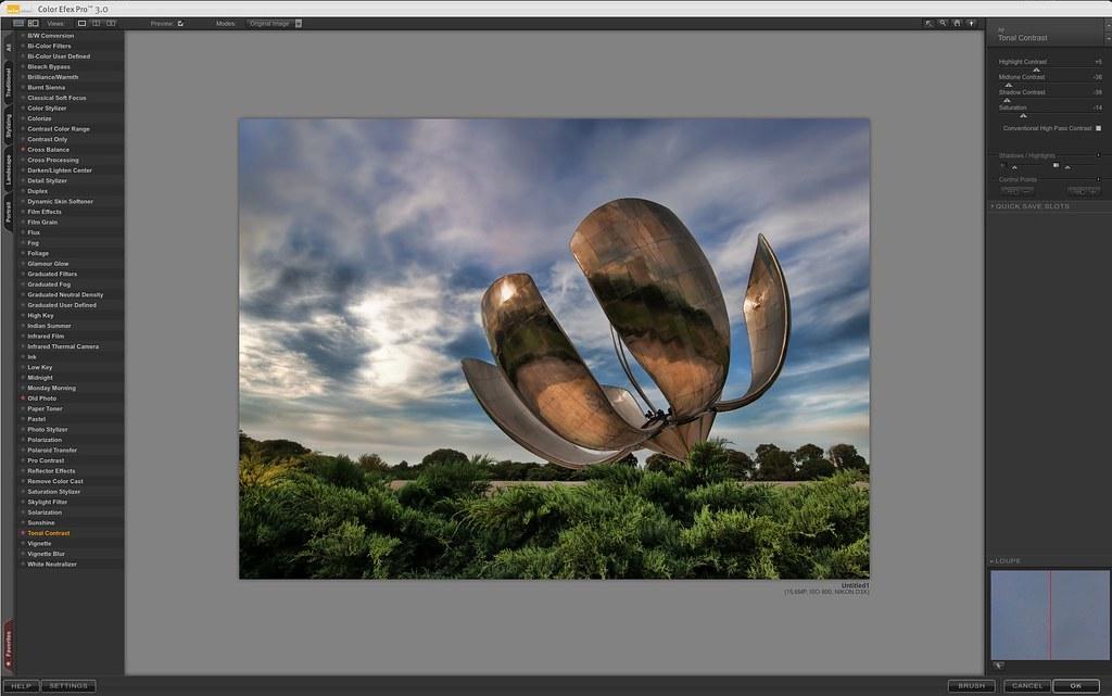 Color Efex Pro 3.0 Tonal Contrast