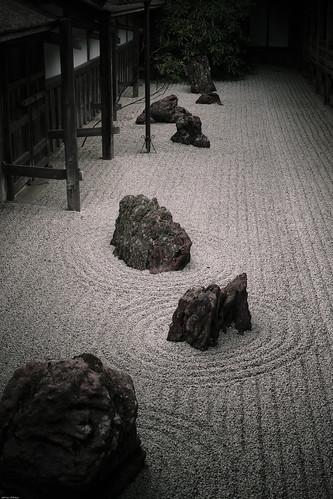 15176 : Silence Garden 1 -Kongobuji Temple #3-