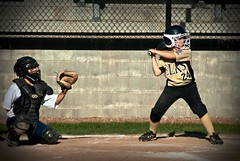 Max - Little League (stephenvance) Tags: 3 west ball outside outdoors virginia nikon baseball little 1st south side huntington bat first wv d200 base league elks basemen