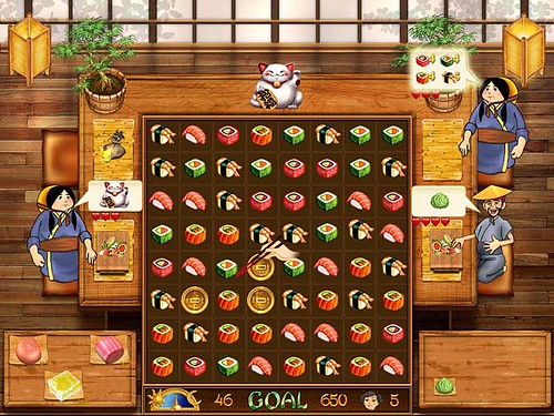 Make delicious sushi in Asami's Sushi Shop Game.