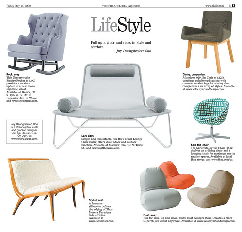 Llifestyle Lounge Chair  Furniture Design