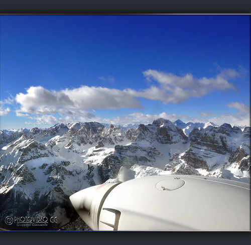 Aerial Photo  -   Flying over Brenta Mountain