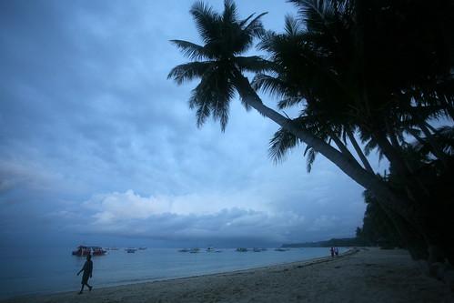 blue Boracay dawn