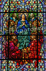 Pentecost (*Jeff*) Tags: church window catholic mary stainedglass apostles pentecost holyspirit