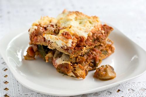 Tassajara Dinners & Desserts: Tofu Lasagna