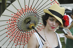 Jazz Age Lawn Party (tozzer) Tags: nyc music beautiful fun dancing hats jazz swing gothamist governorsisland snazzy classy 20s parasols michaelarenellahisdreamlandorchestra jazzagelawnparty theminskysisters