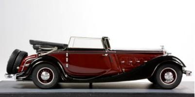 foto 03 Alte Automobil Miniature-Russia Horch 640 12v