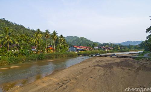 Sg Lembing Town