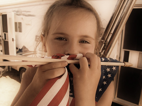 Jamey & Flag