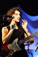 Annie Clark. Photo by Tim Lampe