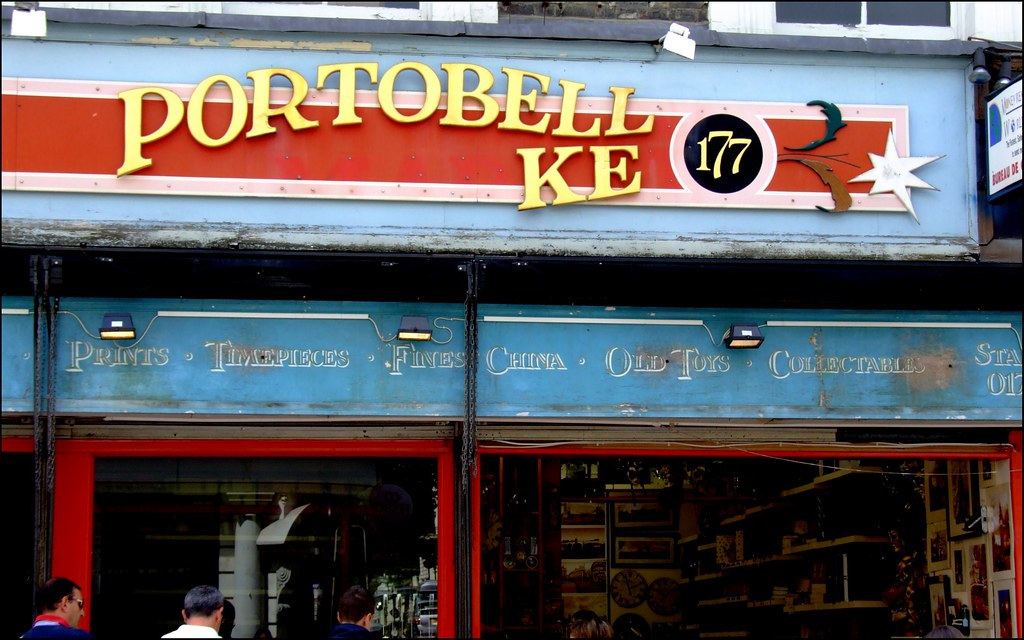 Portobello Quirks - in pursuit of the unordinary