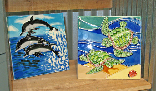 dolphin sea turtles prints