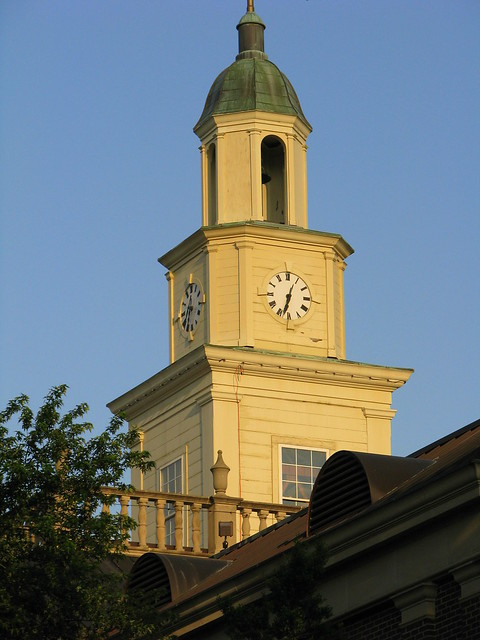 Lincoln County Courthouse E: Clock Tower
