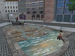 Rindermarkt Brunnen