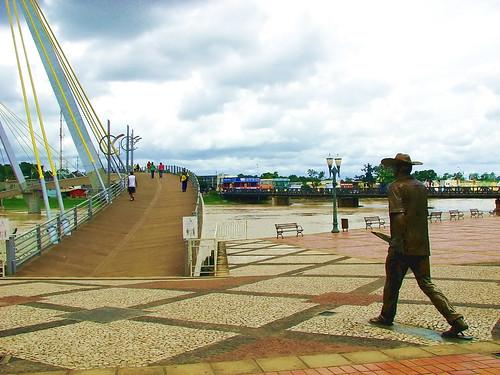 Rio Branco pedestrian bridge